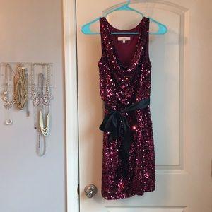 Aidan Mattox sequin dress!